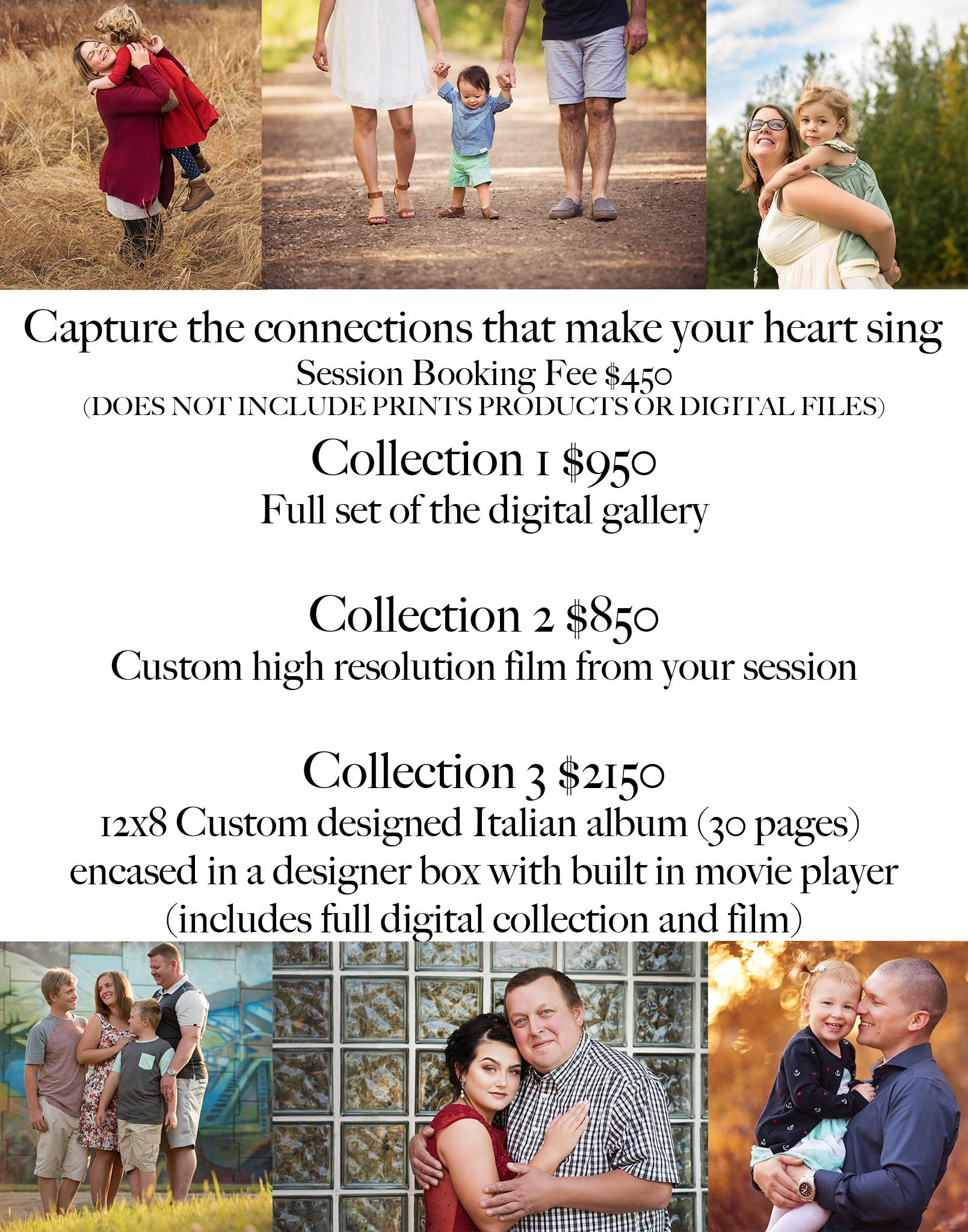Pricing, best, quality, heirloom, fort mcmurray photographer, experience, video, film, alberta, family, graduate, newborn, birthday, anniversary gift,